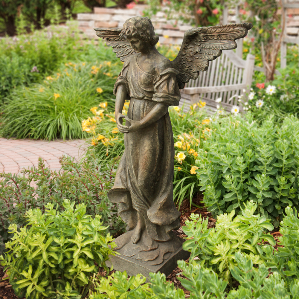 46 inch Garden Angel Statue Angelo Dcor International Inc