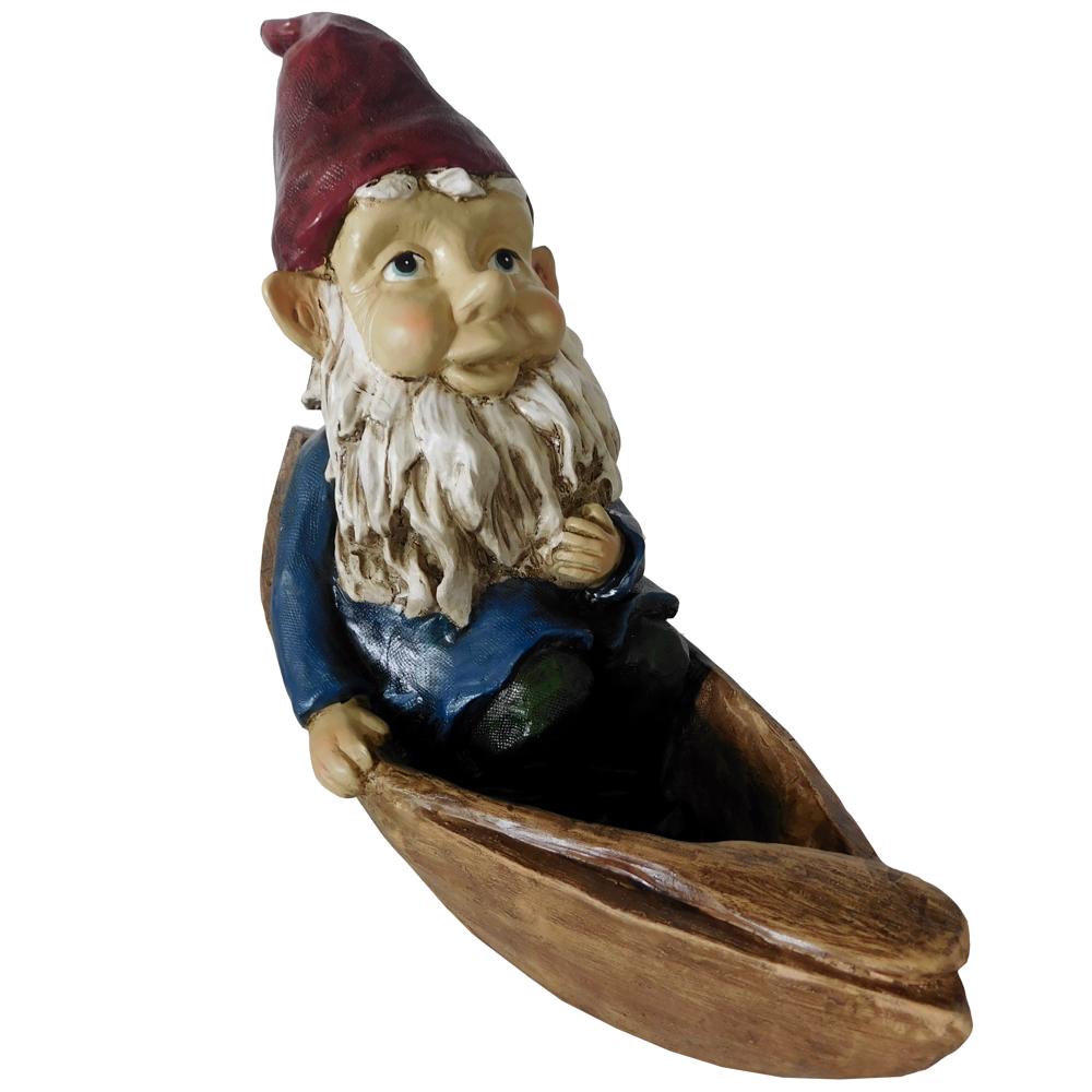 Gnome In Canoe