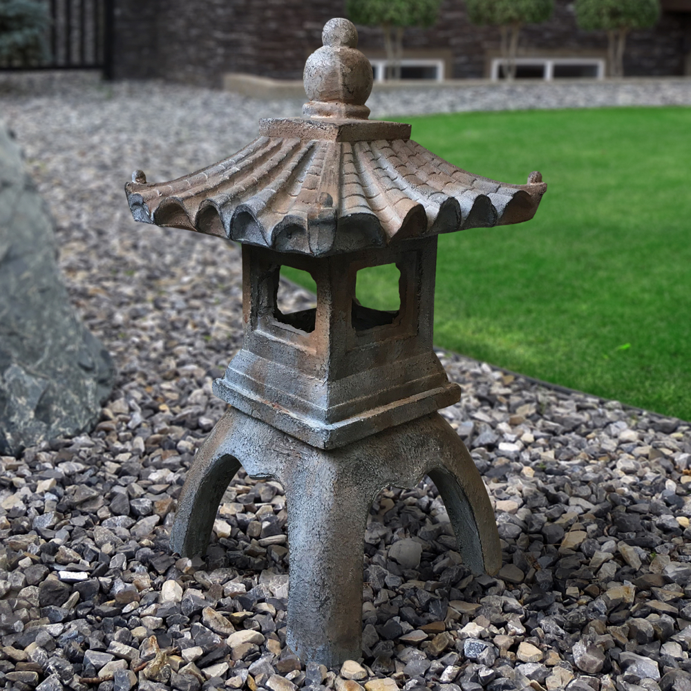 Japanese Pagoda Indoor/Outdoor Statue Is Available At:
