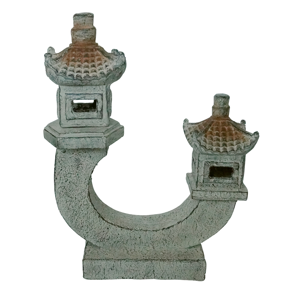 Double pagoda statue angelo d cor international inc for Decor international inc