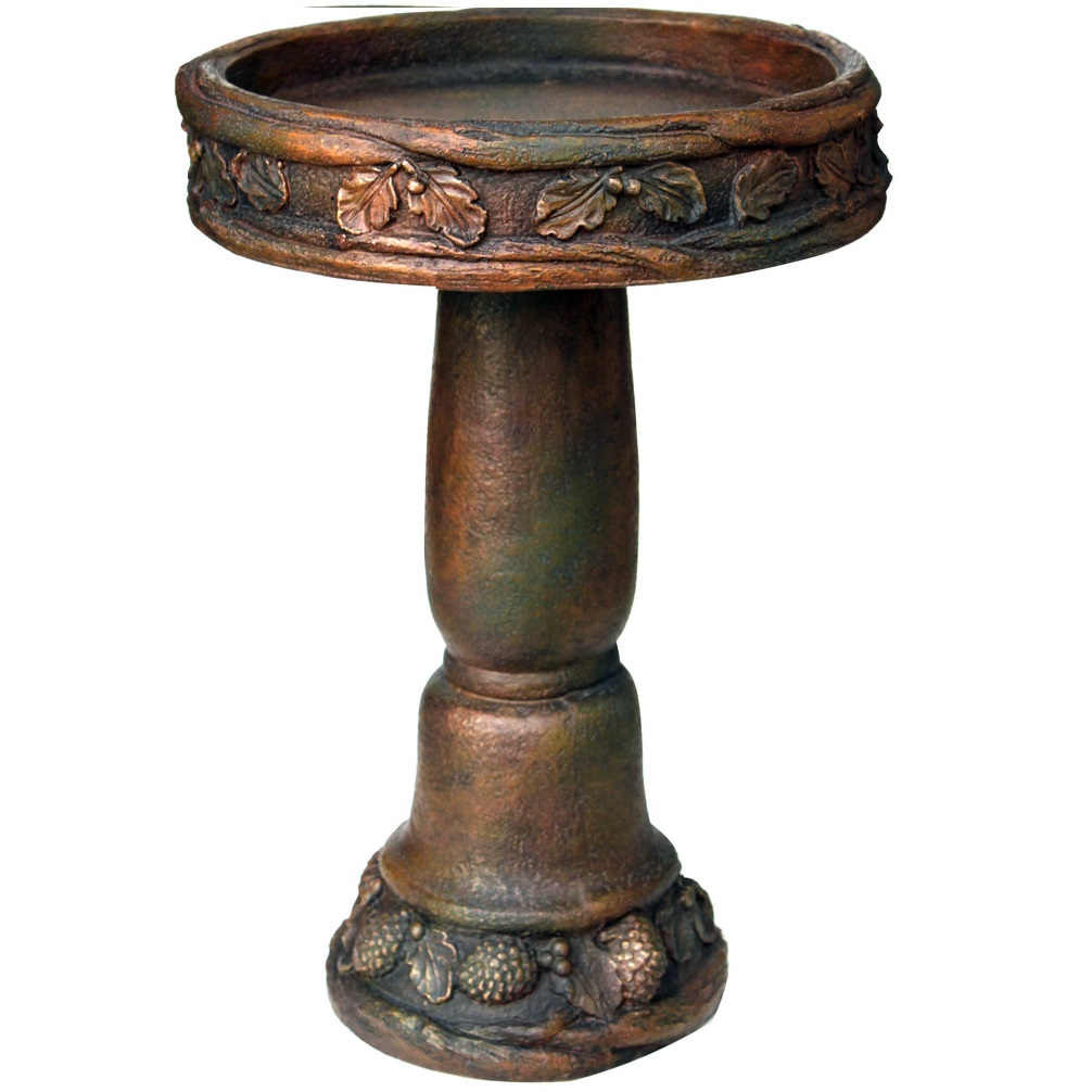 Nature birdbaths archives angelo d cor international inc for Decor international inc