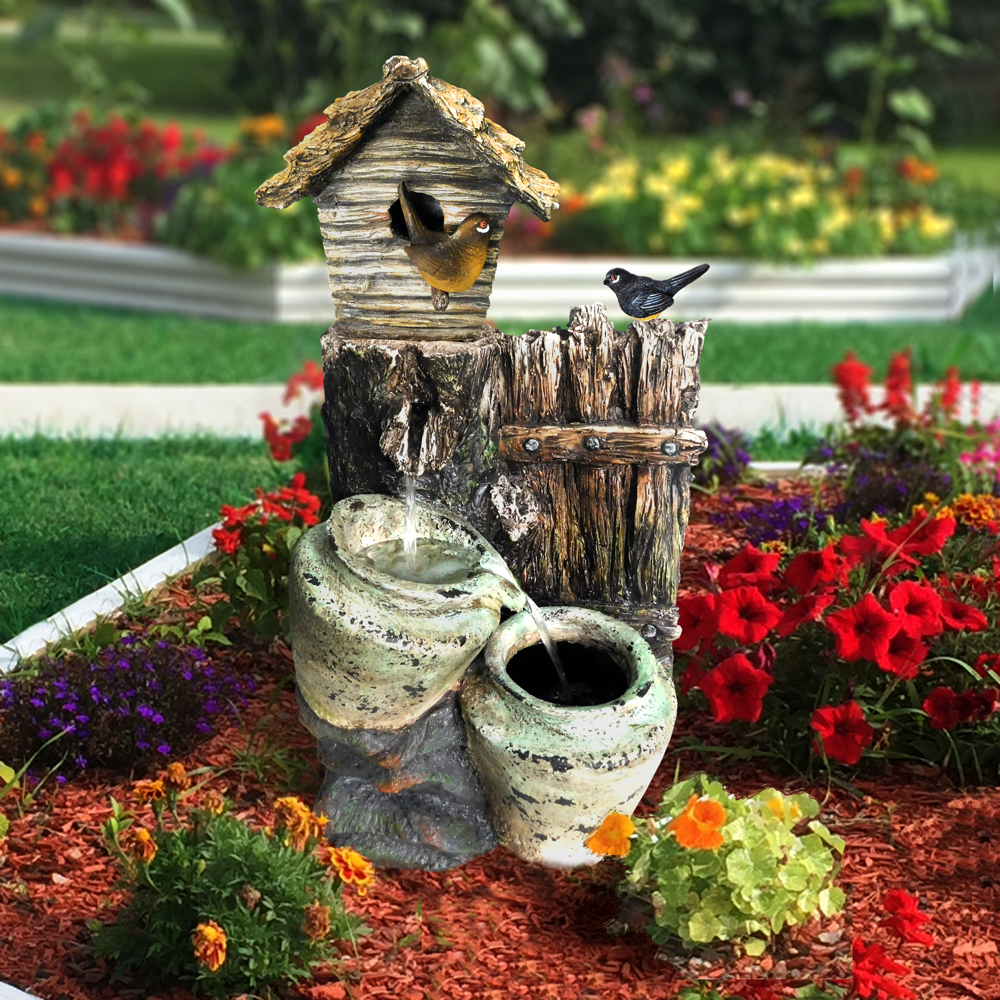 Birdhouse angelo d cor international inc for Decor international inc