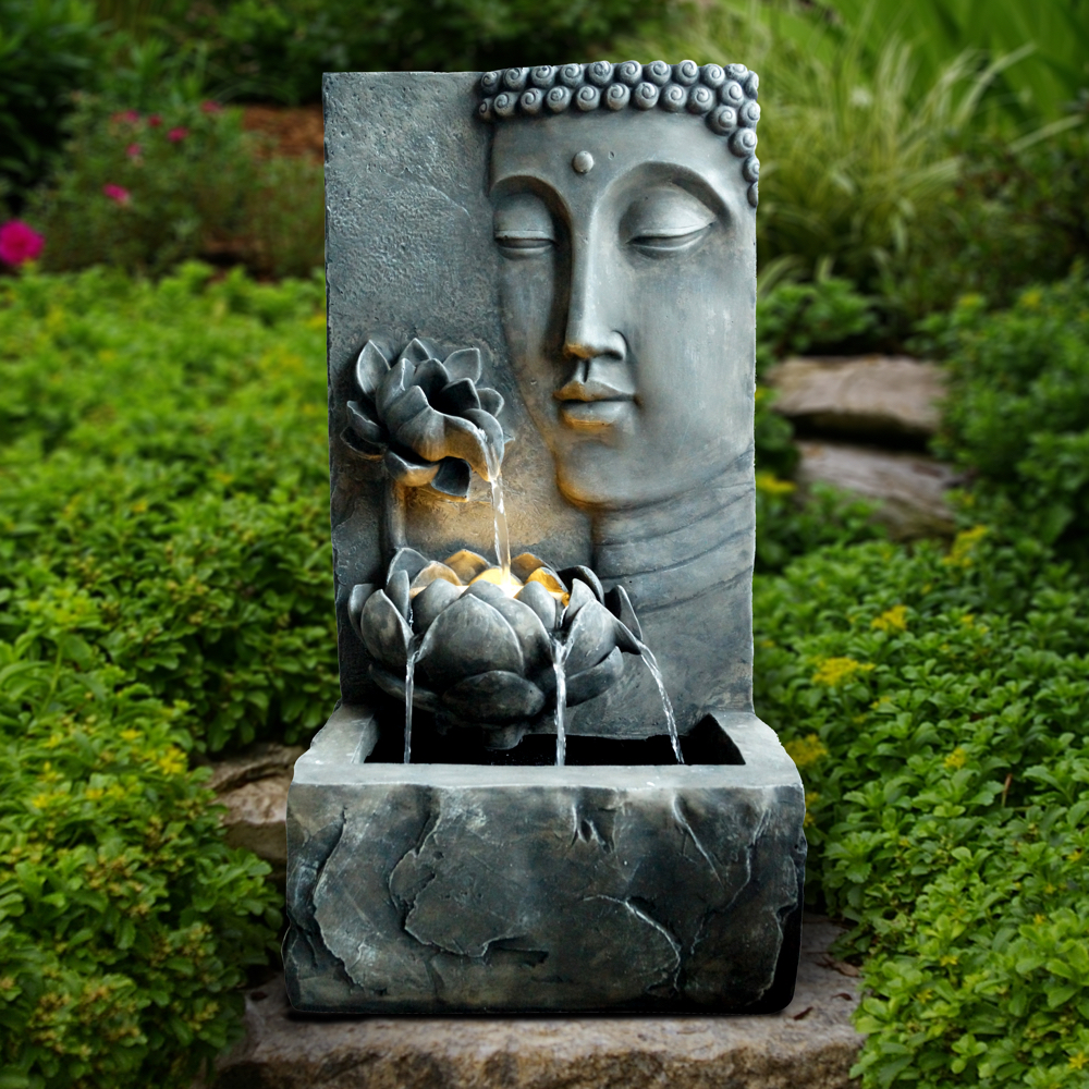 Amazing Buddha Outdoor Fountain Is Available At: