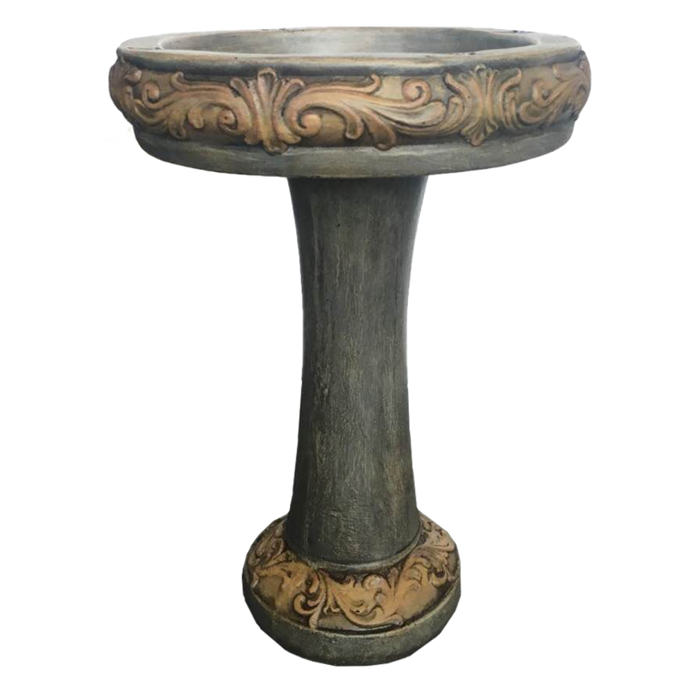 Traditional birdbaths archives angelo d cor for Decor international inc