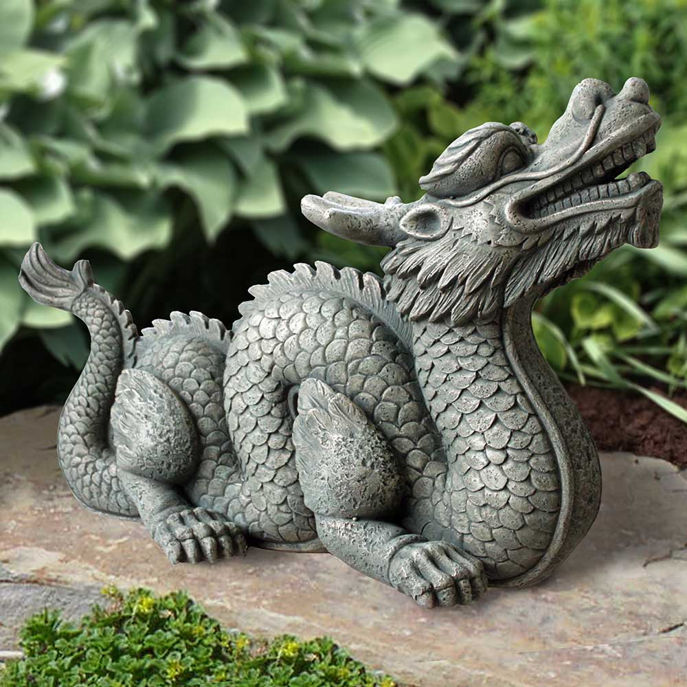 Outdoor Dragon Statue Dragon Indoor/outdoor Statue