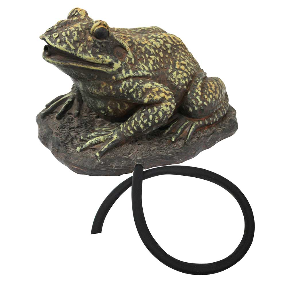 Frog Spouting Statue