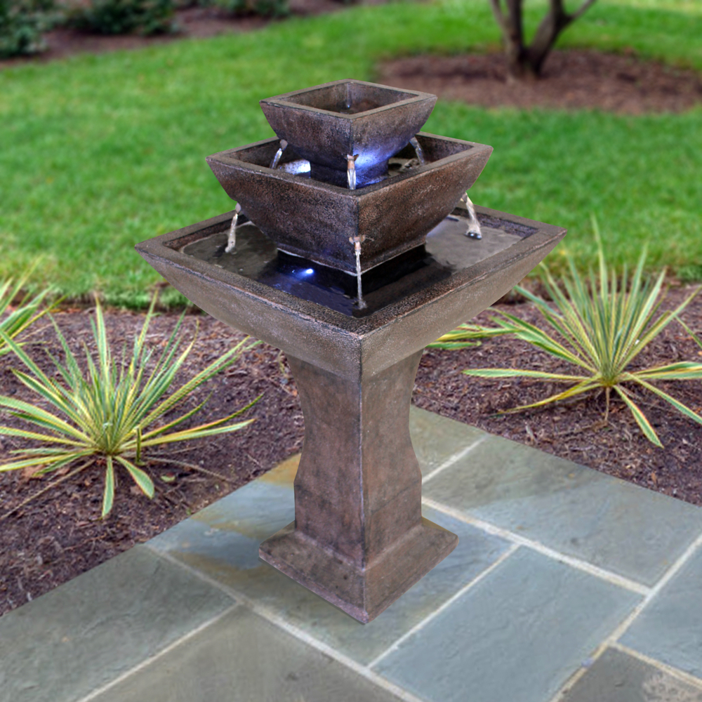 Zen fountain angelo d cor international inc for Decor international inc