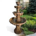 Classic three tiered fountain
