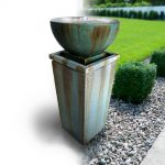 Contemporary styled fountain